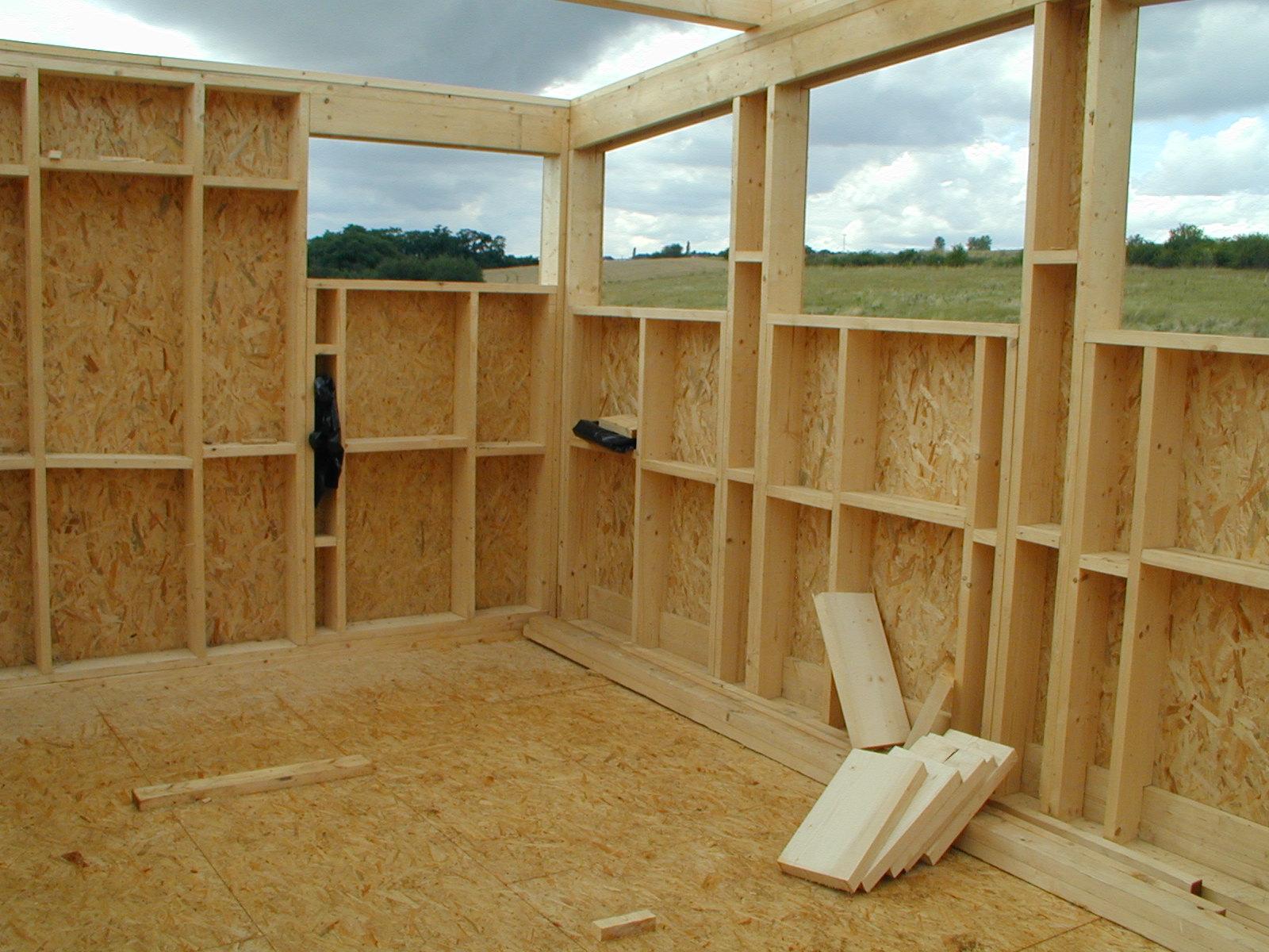 Строительство деревянных домов своими руками фото